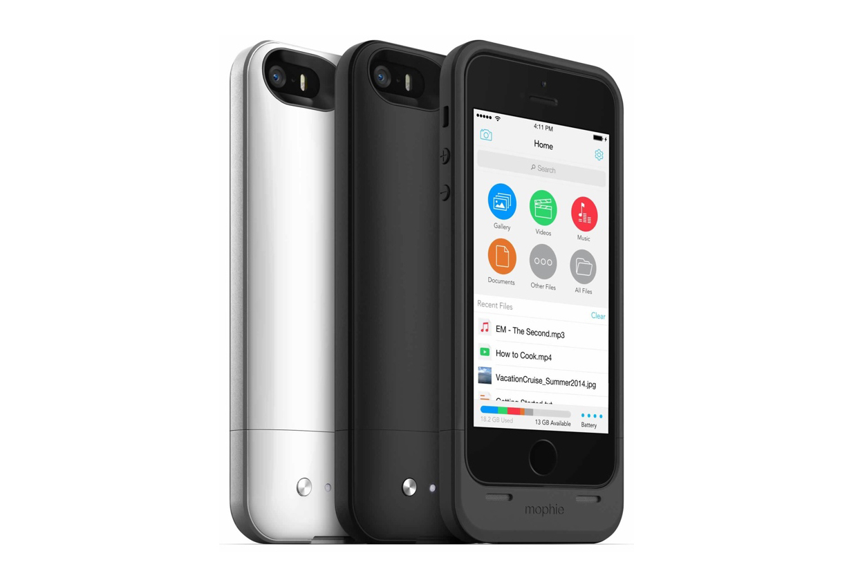 Image of Mophie iPhone 5/5s Space Pack