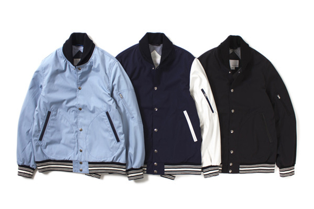 Image of nanamica 2014 Spring 65/35 Varsity Jacket