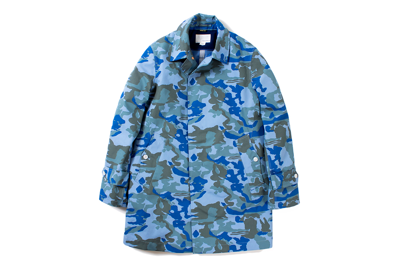 Image of nanamica 2014 Spring GORE-TEX Soutien Collar Coat
