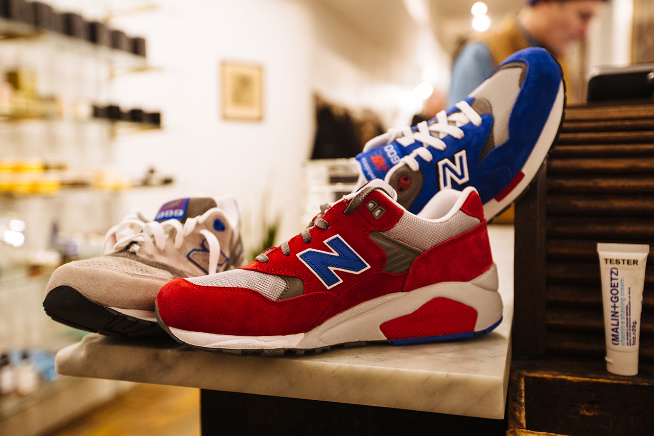 "Image of New Balance Elite Edition ""Barbershop"" Pack Launch @ Fellow Barber New York"