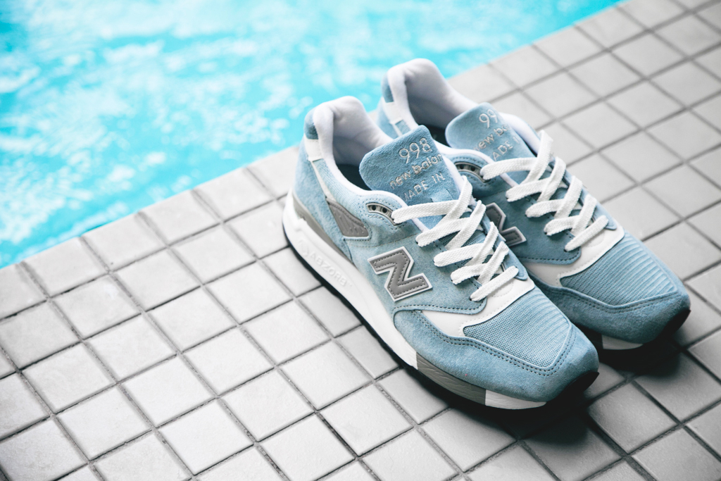 Image of New Balance Made in USA M998 Baby Blue