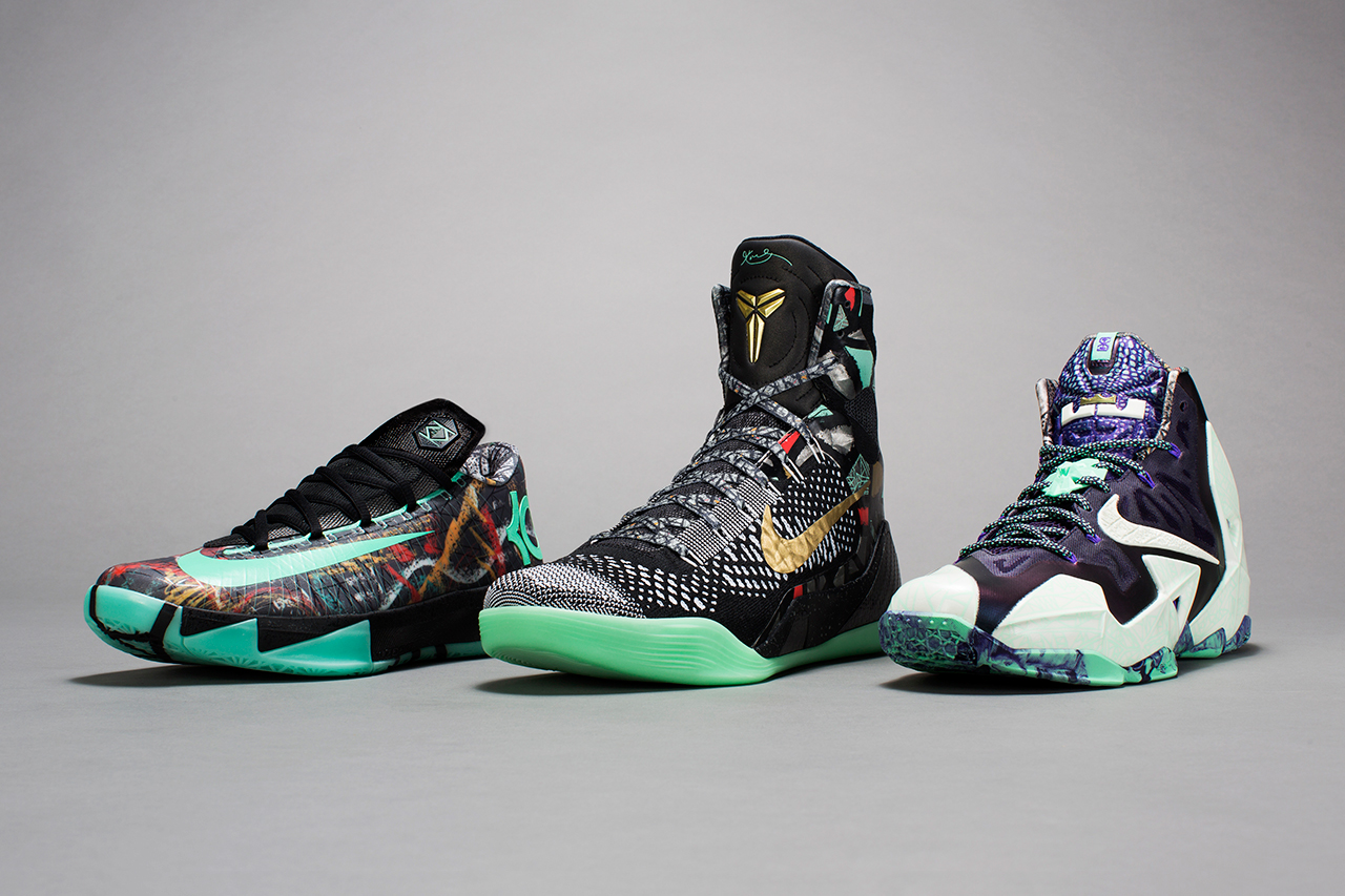 "Image of Nike Basketball 2014 ""NOLA Gumbo League"" Collection"