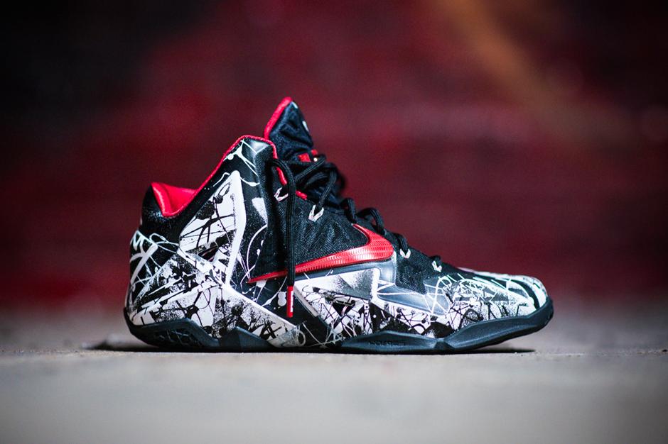 "Image of Nike LeBron 11 ""Graffiti"""