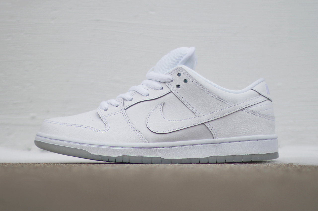 Image of Nike SB Dunk Low Pro White/Light Base Grey