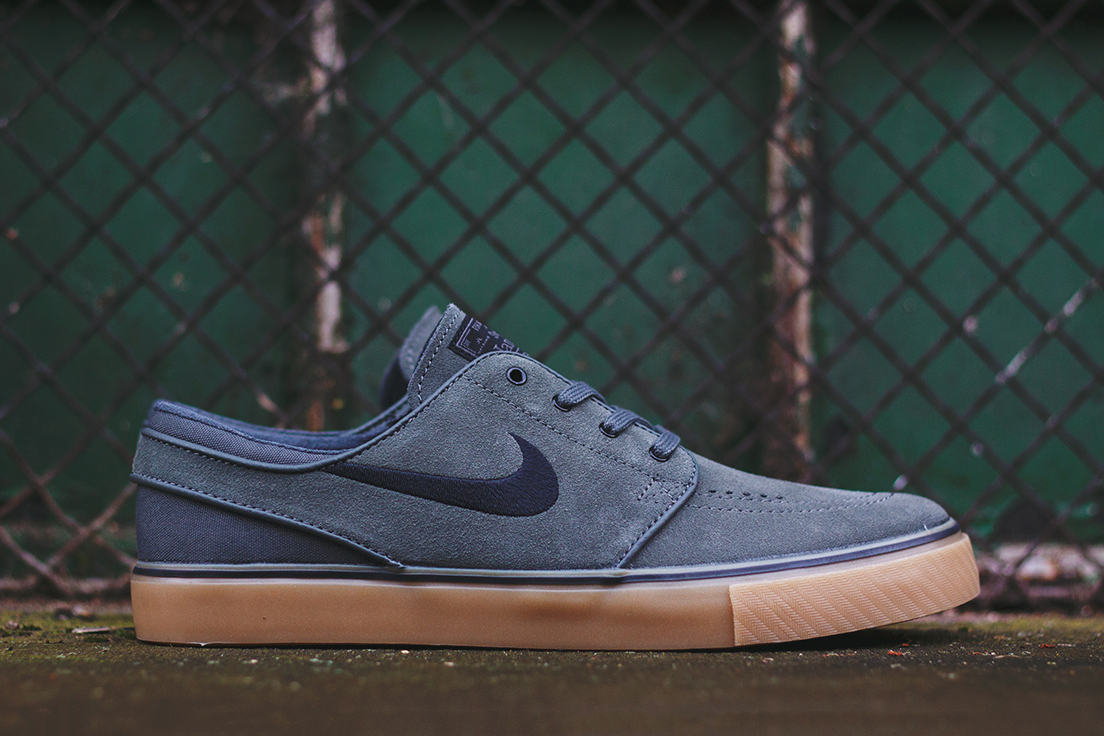 Image of Nike SB Zoom Stefan Janoski Dark Base Grey/Black-Gum