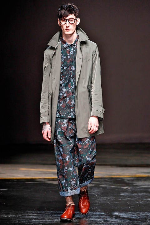 Image of Oliver Spencer 2014 Fall/Winter Collection