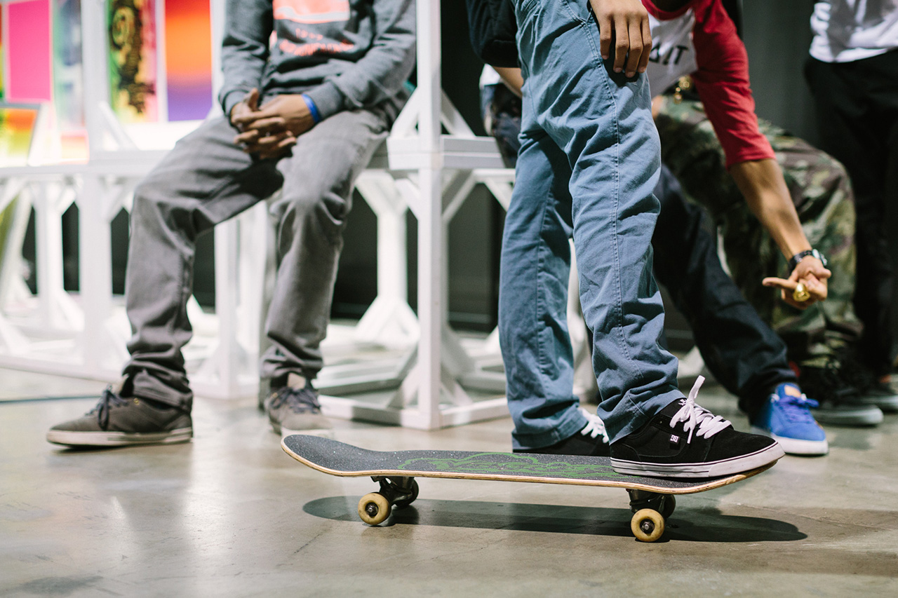 Image of #OnFeet at Agenda Long Beach 2014
