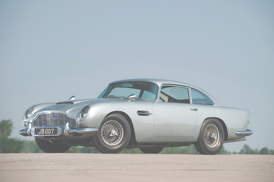 Image of Original James Bond Aston Martin DB5 Now for Sale at £3 Million