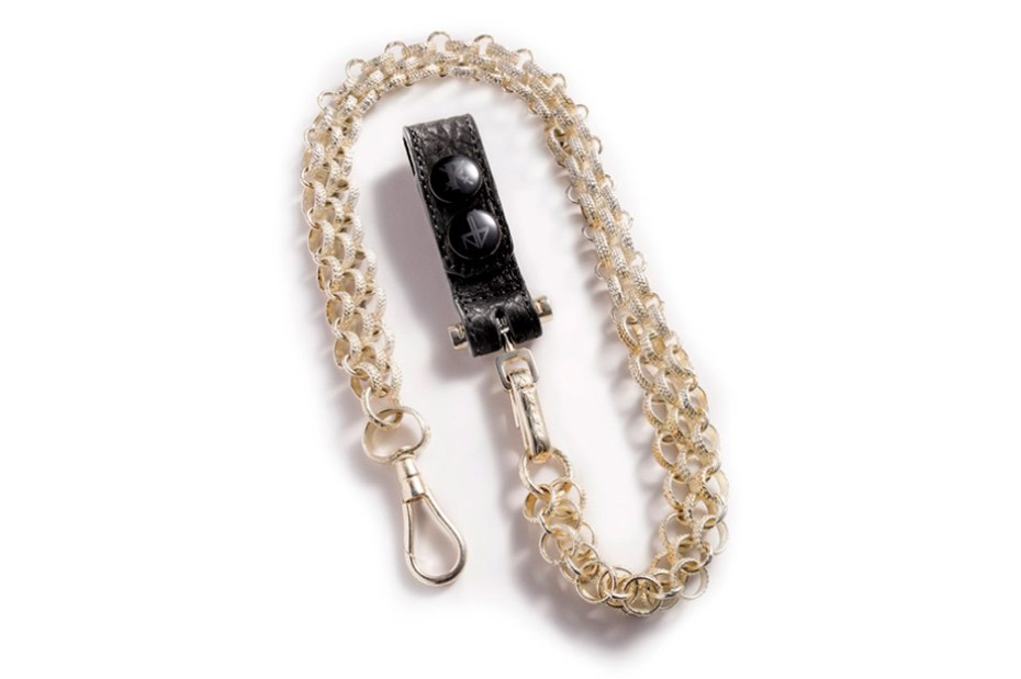Image of Parabellum x Negative Vibes Templar Key Chain