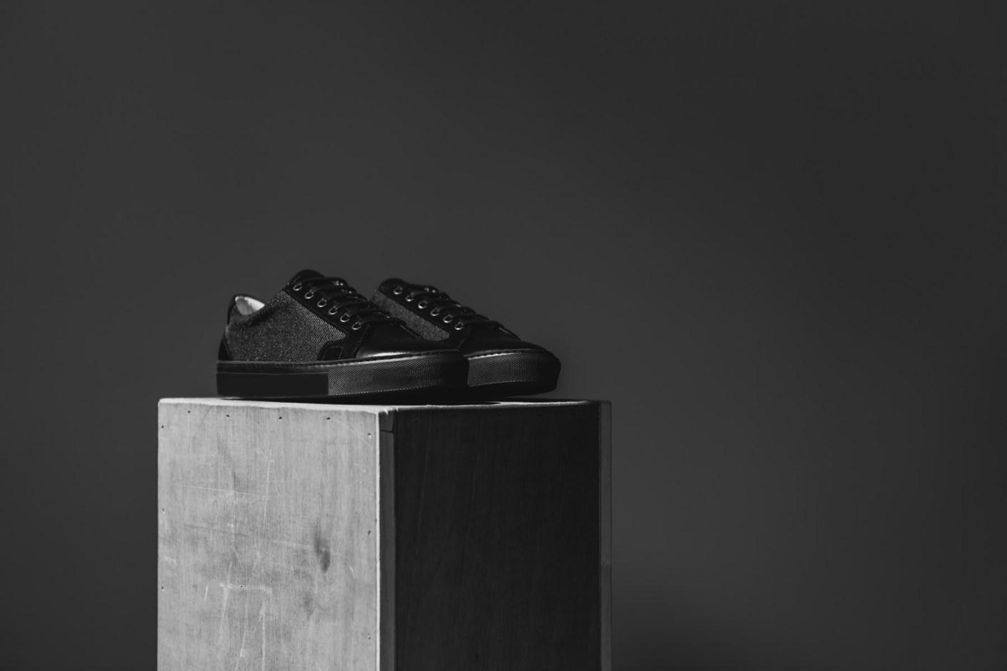 Image of Piola 2014 Chincha Baja Shoe Noir/Blanc
