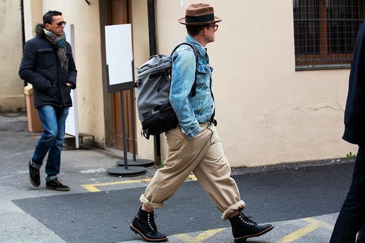 Image of Pitti Uomo 85 Street Style by NAM