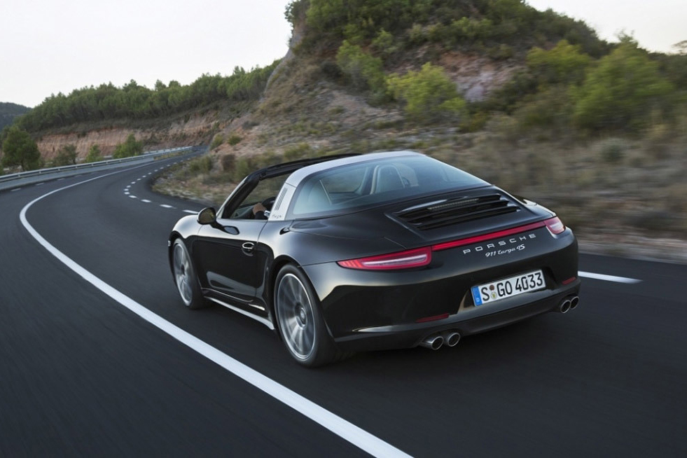 Image of Porsche 911 Targa to Be Revealed at Detroit Auto Show
