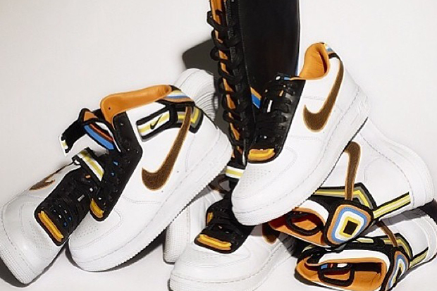 Image of More Images Unveiled of the Riccardo Tisci x Nike Air Force 1 Project