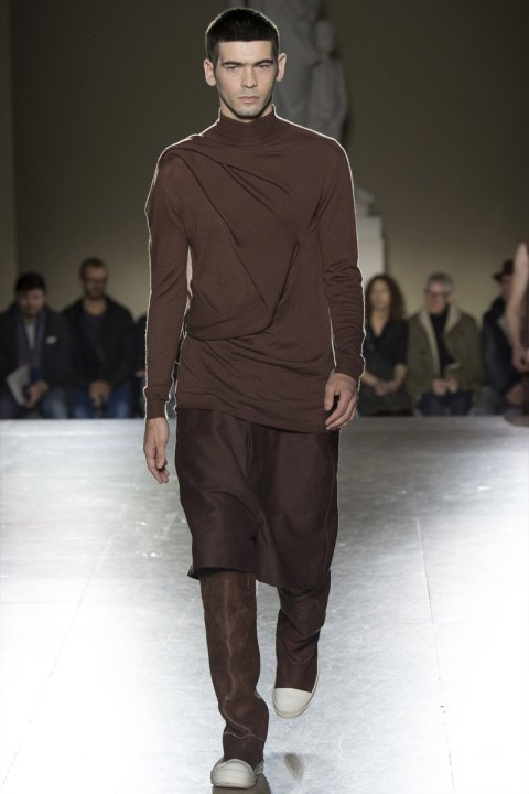 Image of Rick Owens 2014 Fall/Winter Collection