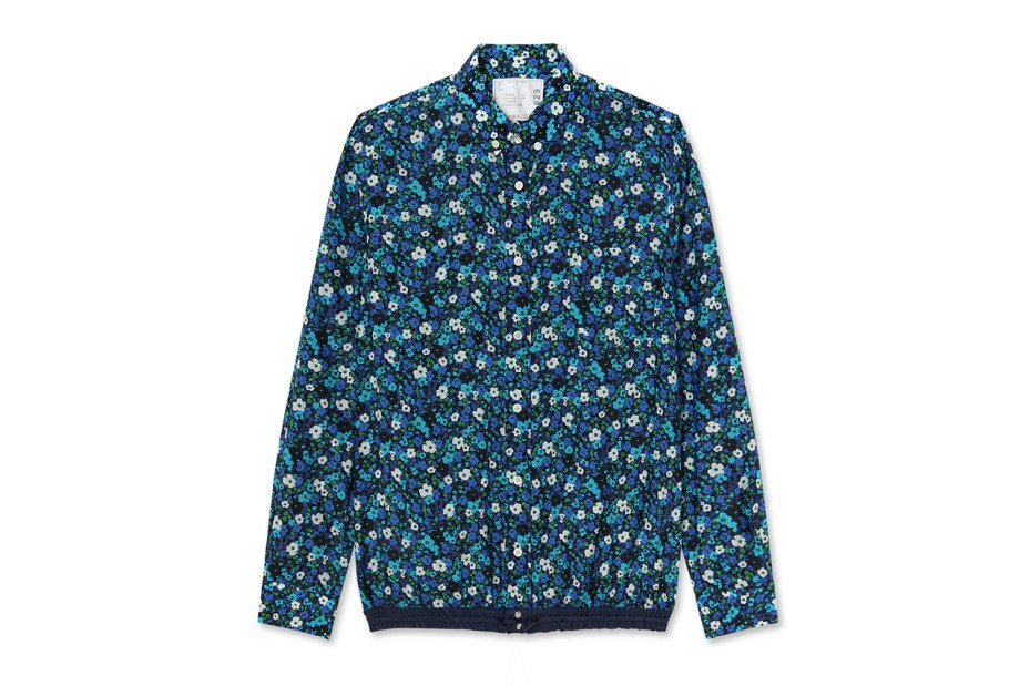 "Image of sacai 2014 Spring/Summer ""Flower Print"" Capsule Collection"