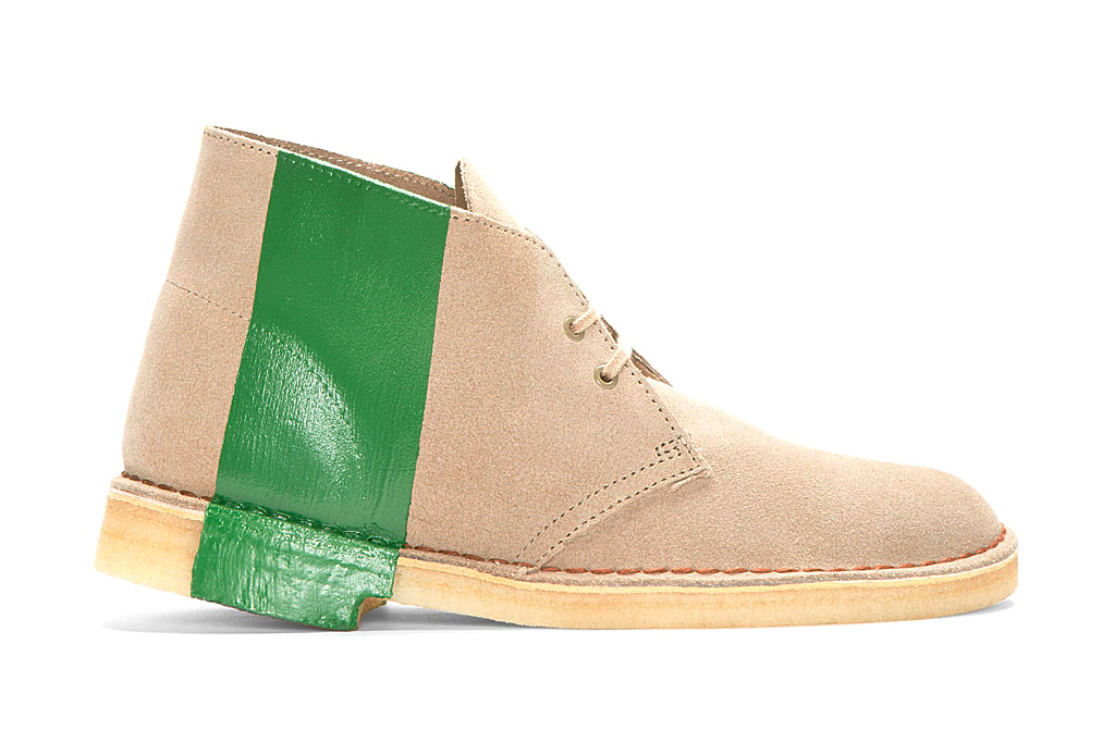 Image of sacai for Clarks Brogue Detail Chukka Boot Pack