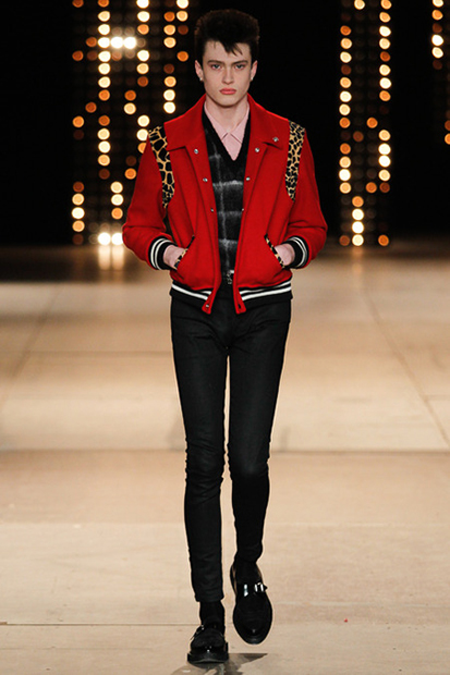 Image of Saint Laurent 2014 Fall/Winter Collection