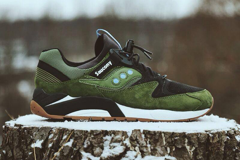 Image of Saucony 2014 Spring Grid 9000 Dark Green