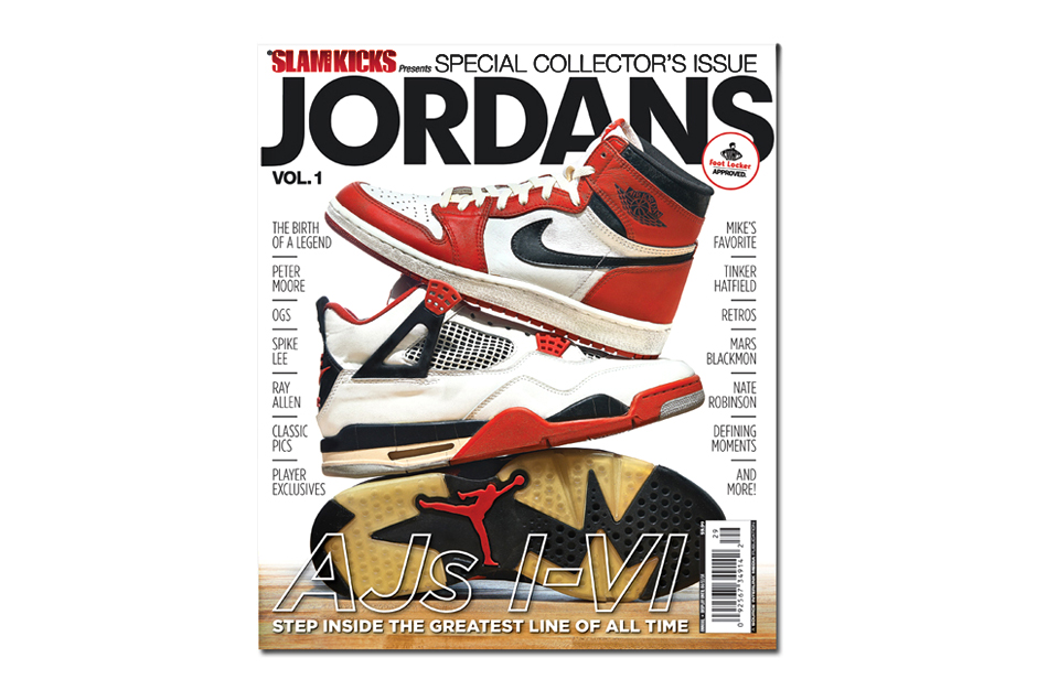 Image of SLAM Magazine: JORDANS Vol. 1 Special Issue