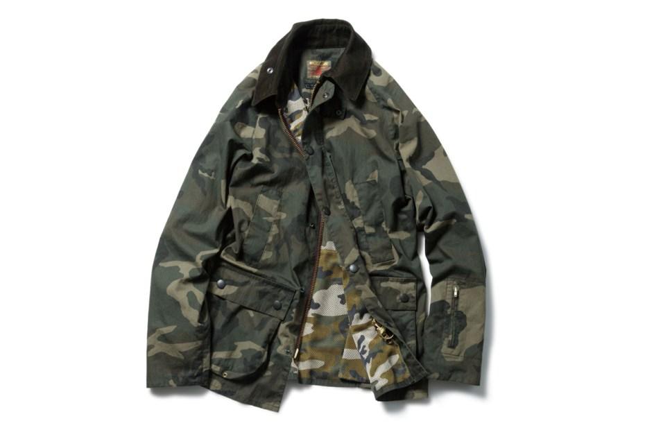 Image of SOPHNET. x Barbour 2014 Spring Slim-Fit Bedale Jacket