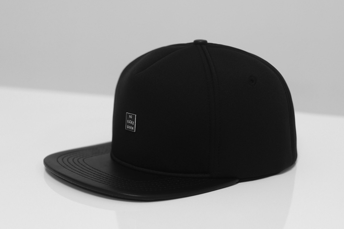 "Image of Stampd ""No Fucks Given"" Neoprene Snapback Hat"