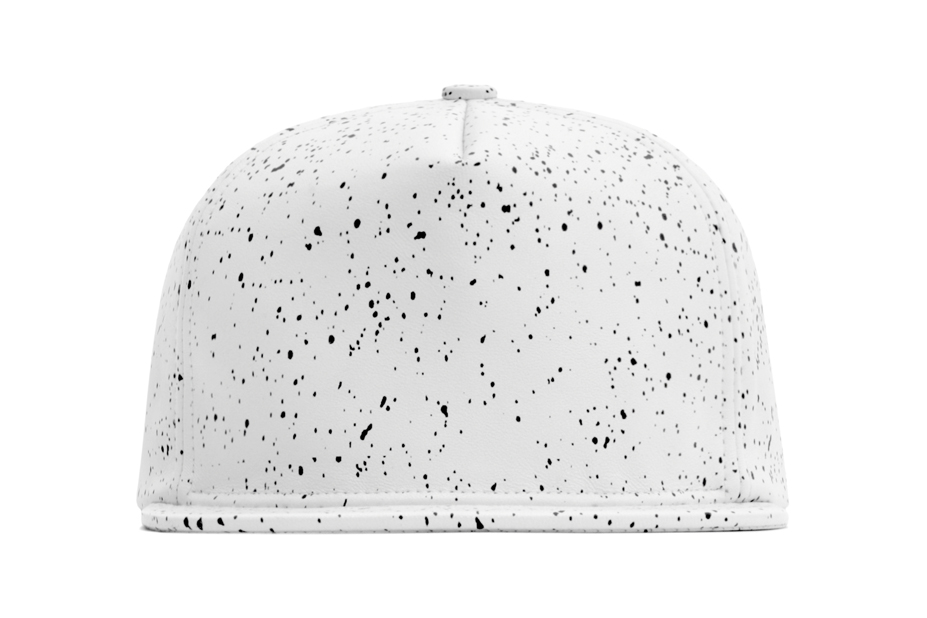 Image of Stampd Speckle Leather Hat