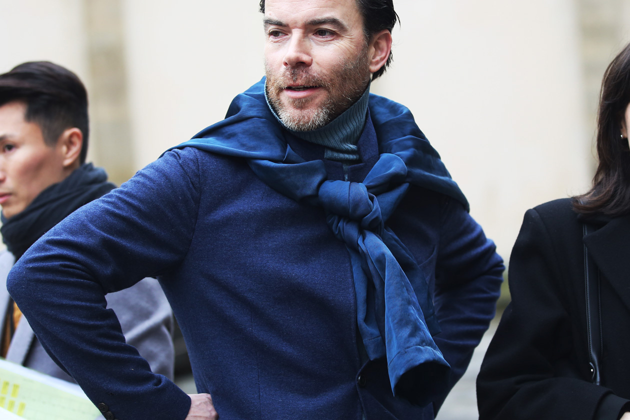 Image of STREETFSN: Paris Fashion Week Fall/Winter 2014 for GRAZIA.IT