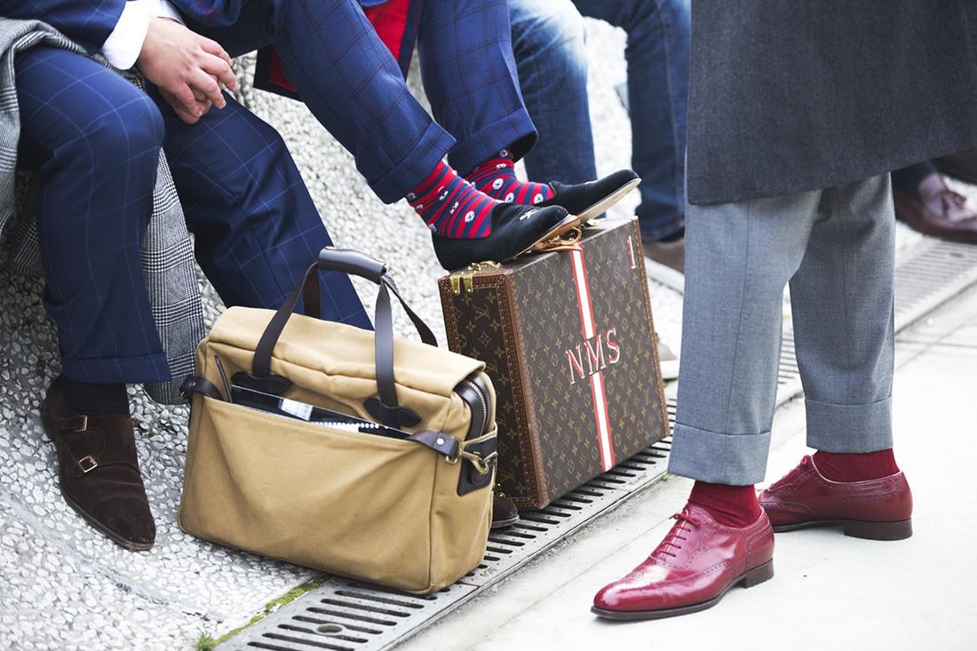 Image of STREETFSN: Pitti Uomo 85 Street Style for GRAZIA.IT