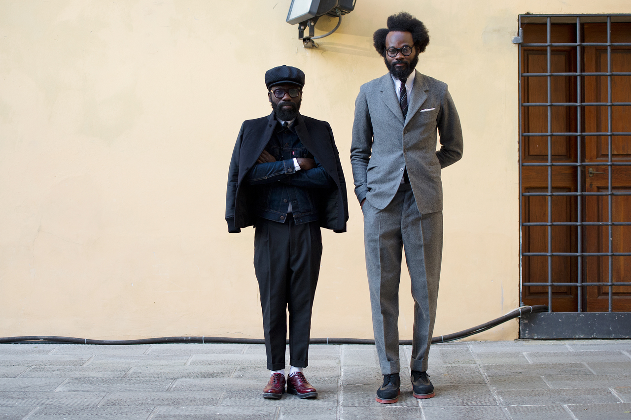 Image of Streetsnaps: Sam Lambert and Shaka Maidoh of ACF