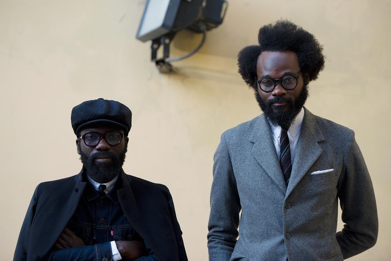 Image of Streetsnaps: Sam Lambert and Shaka Maidoh of ACF