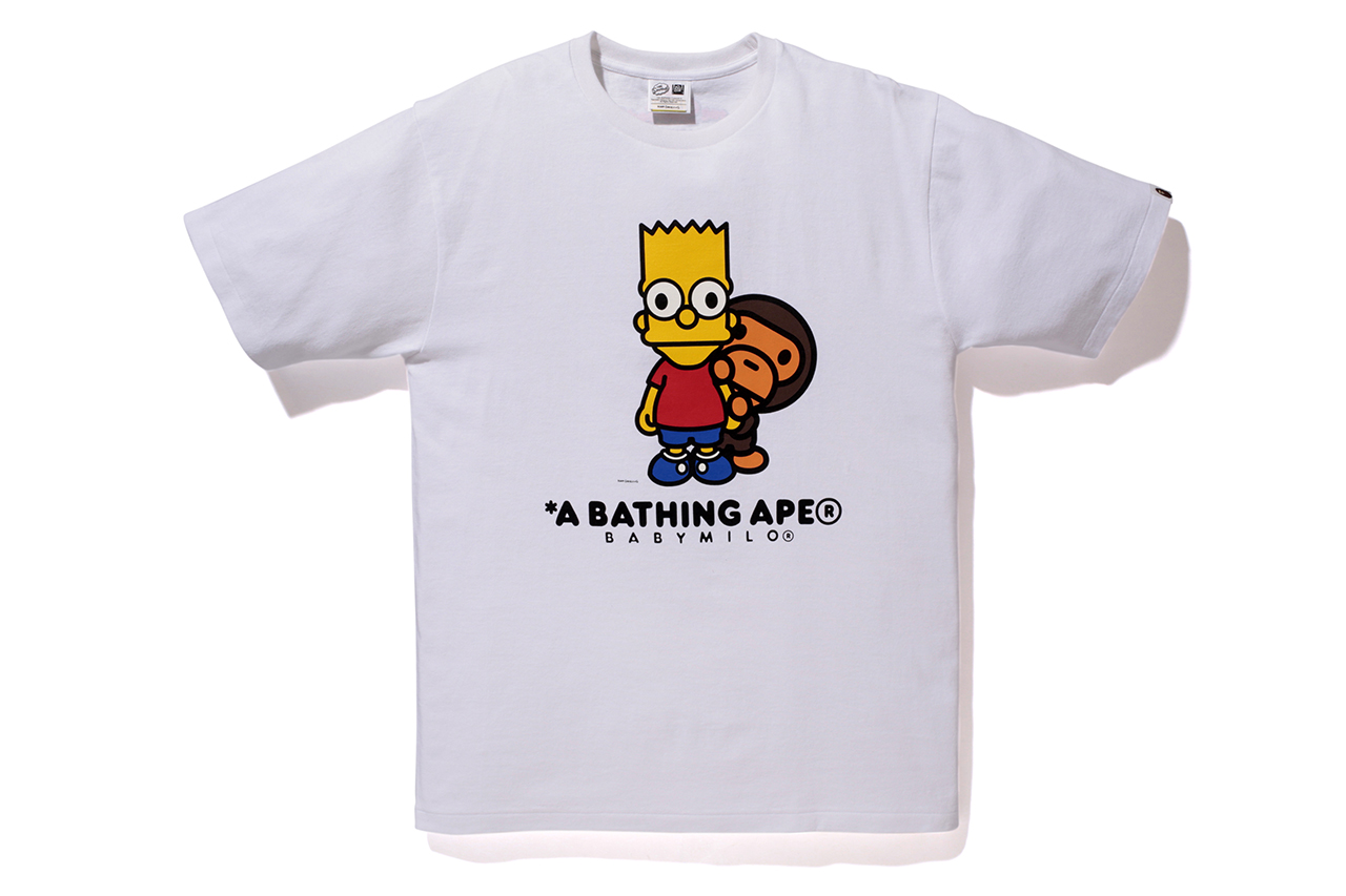 Image of The Simpsons x A Bathing Ape Baby Milo 2014 Capsule Collection