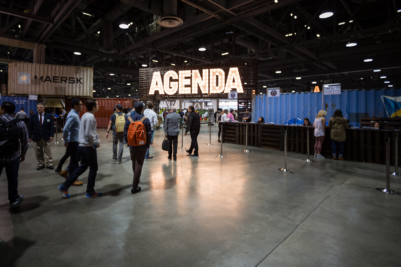 Image of The Trade Show Grind: A Day with Andy Song of Flexfit at Agenda Long Beach