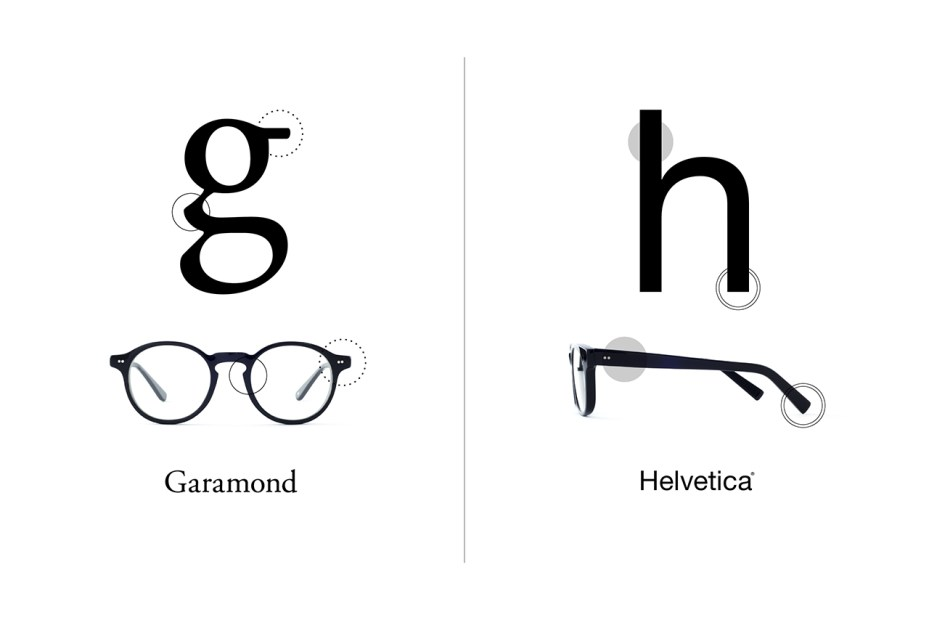 Image of TYPE: The Typeface-Inspired Glasses Collection