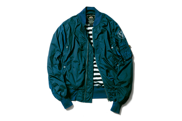 Image of uniform experiment x Alpha Industries Light MA-1 Blouson