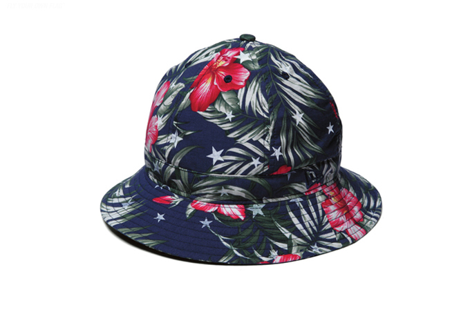 Image of uniform experiment x New Era Star Flower Explorer Hat