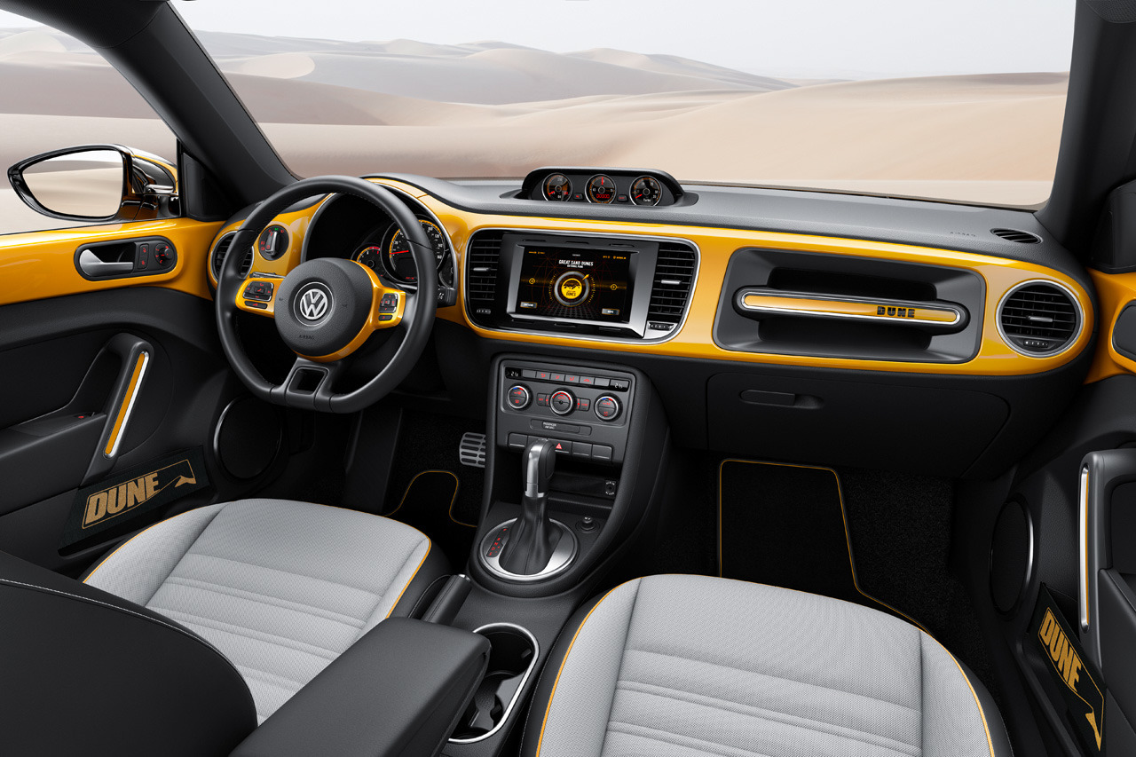 Image of Volkswagen Beetle Dune Concept