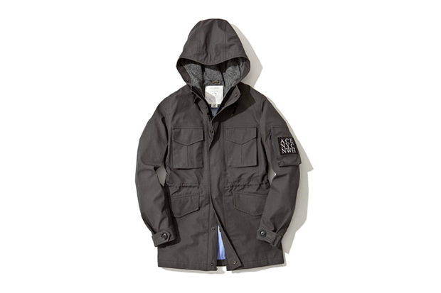 Image of wings+horns x Ace Hotel x nanamica Zip Front Hood Parka