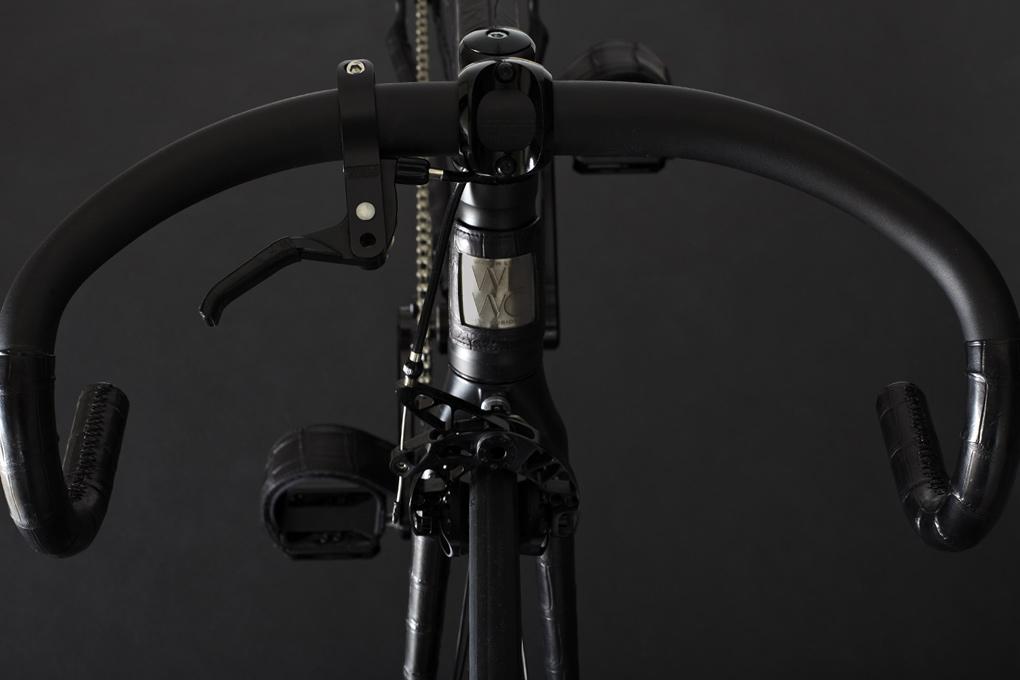 Image of WLWC Crocodile-Wrapped Fixed Gear Bike