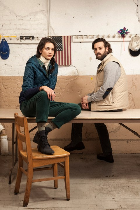 Image of Woolrich White 2014 Fall/Winter Lookbook