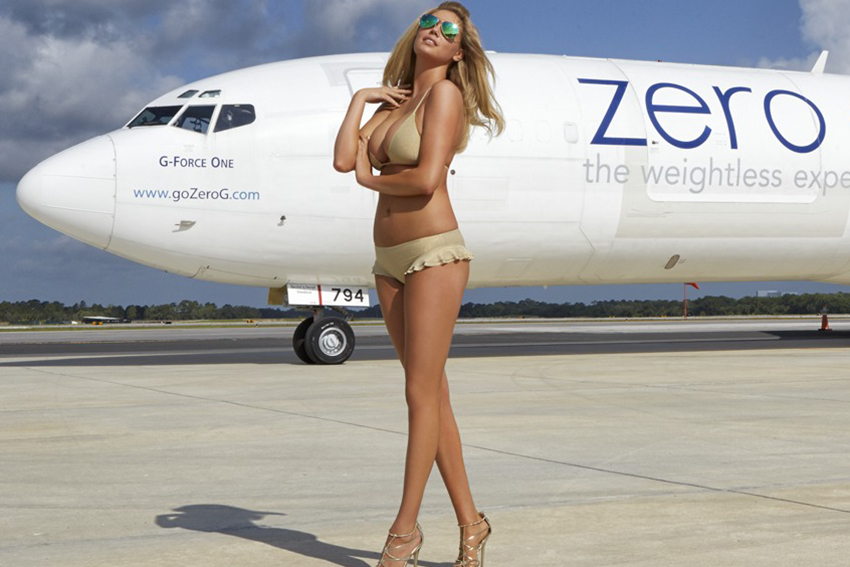 "Image of 2014 Sports Illustrated Swimsuit Issue ""Zero Gravity"" Editorial featuring Kate Upton"