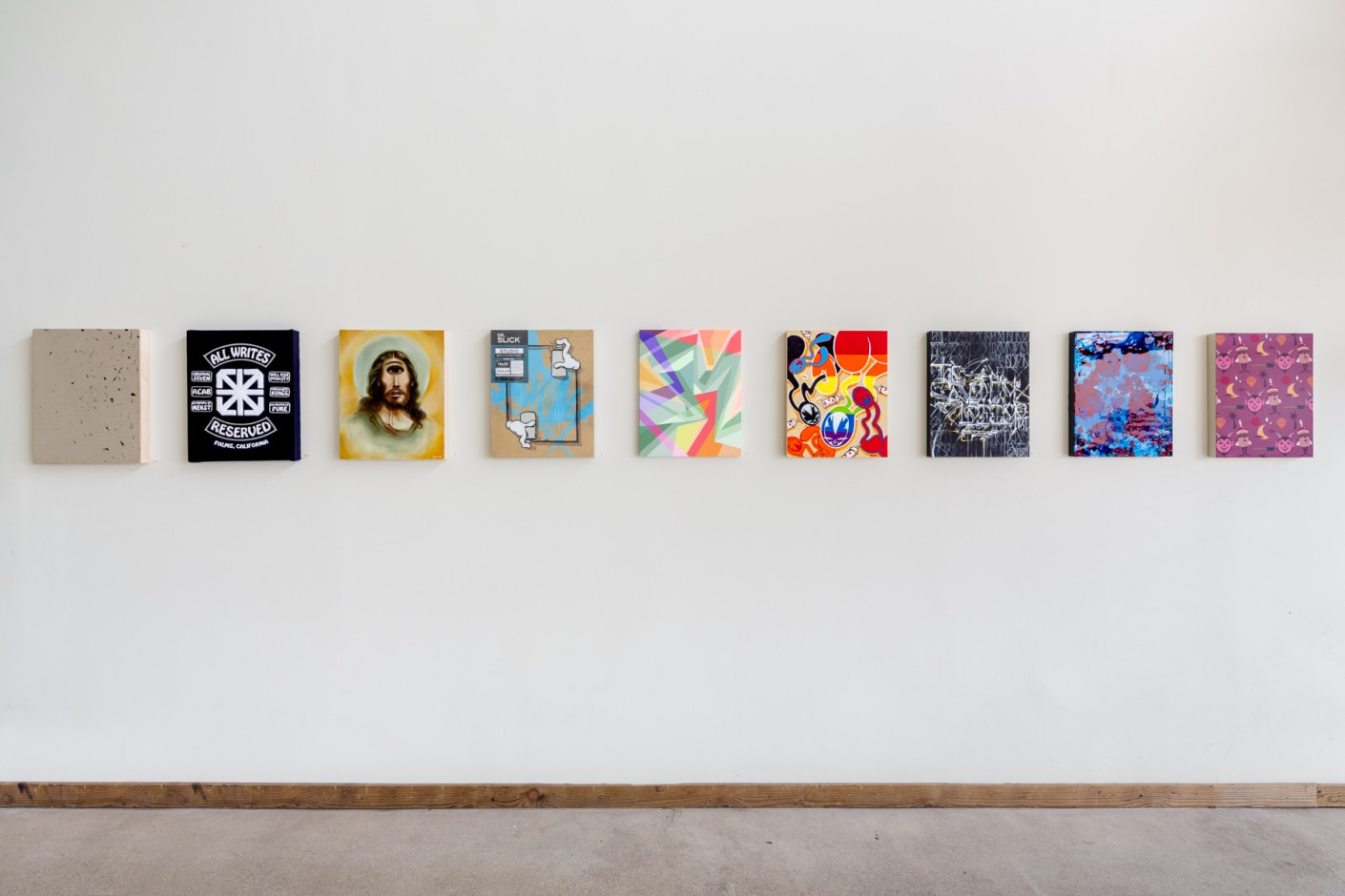 Image of RVCA x The Seventh Letter Pop-Up Exhibition @ POW! WOW! Hawai'i 2014
