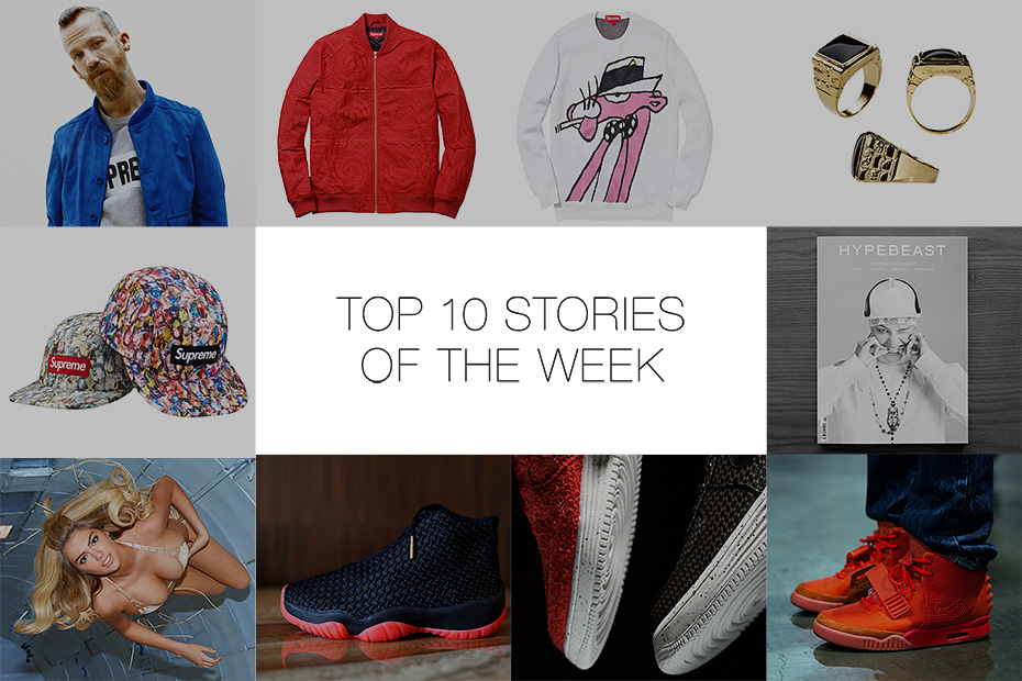 Image of Last Week's Top 10 Stories on HYPEBEAST