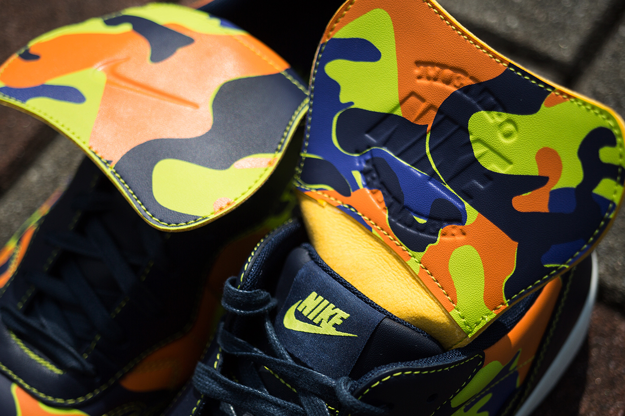 "Image of A Closer Look at the F.C.R.B. x Nike Tiempo '94 ""Camo"""