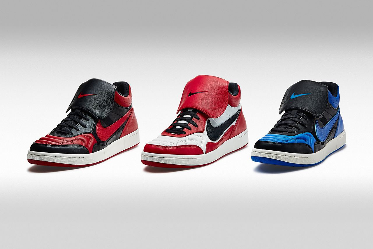 "Image of A Closer Look at the Nike Tiempo '94 Mid ""Air Jordan"" Collection"