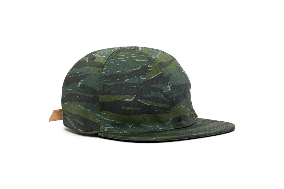 Image of A.P.C. 2014 Spring/Summer Camouflage Cap