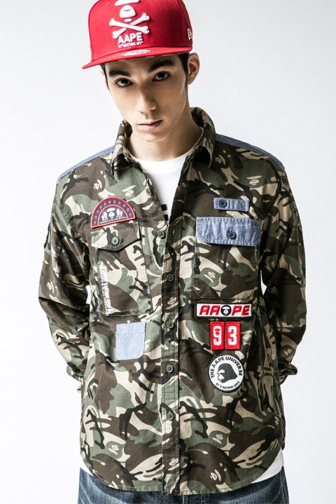 Image of AAPE by A Bathing Ape 2014 Spring/Summer Lookbook