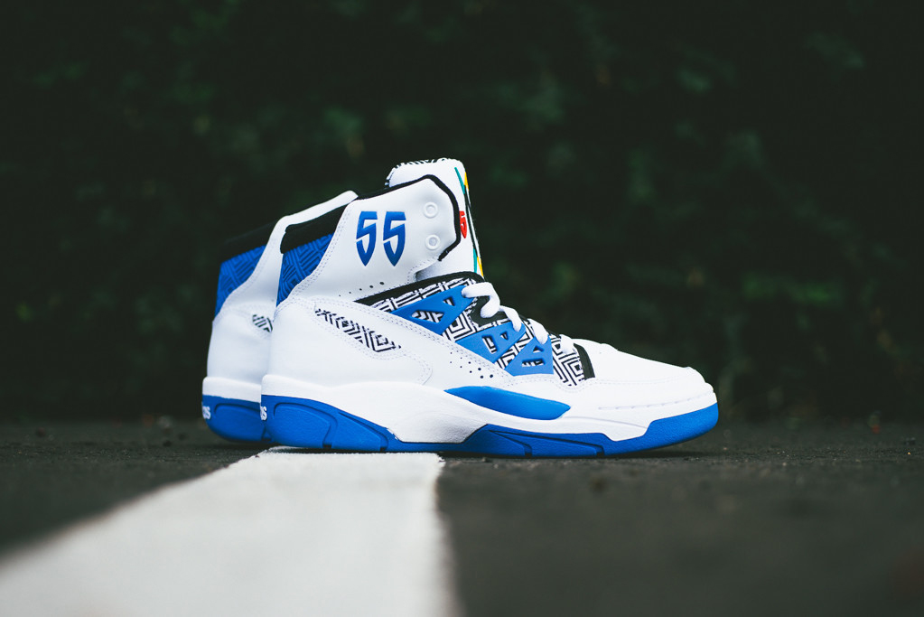 Image of adidas Mutombo Running White/Blue