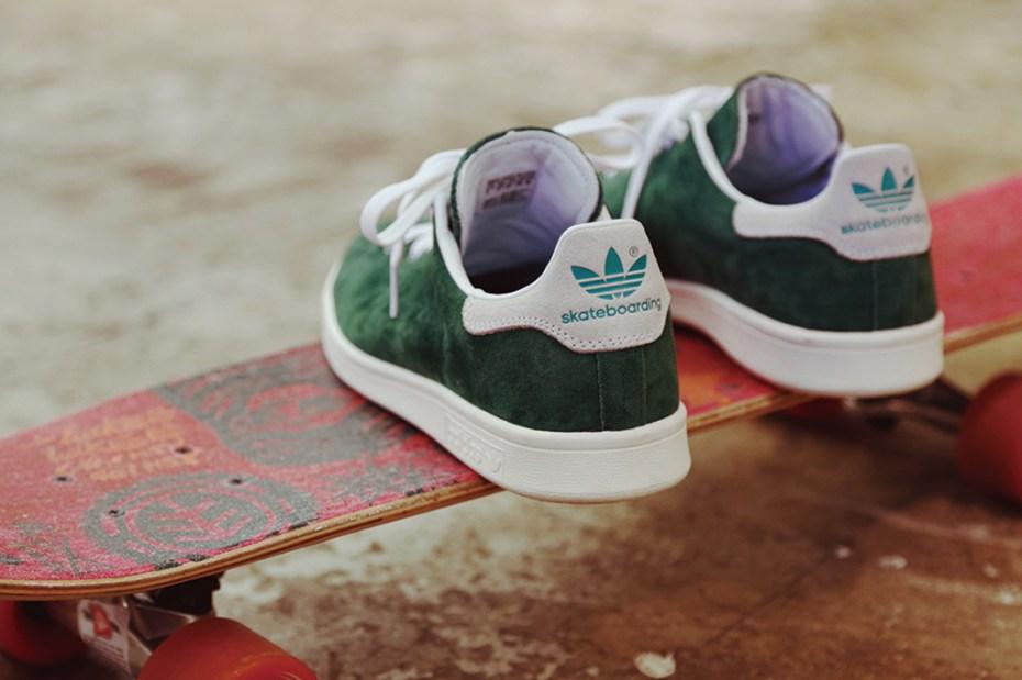 Image of adidas Originals Stan Smith Skateboarding