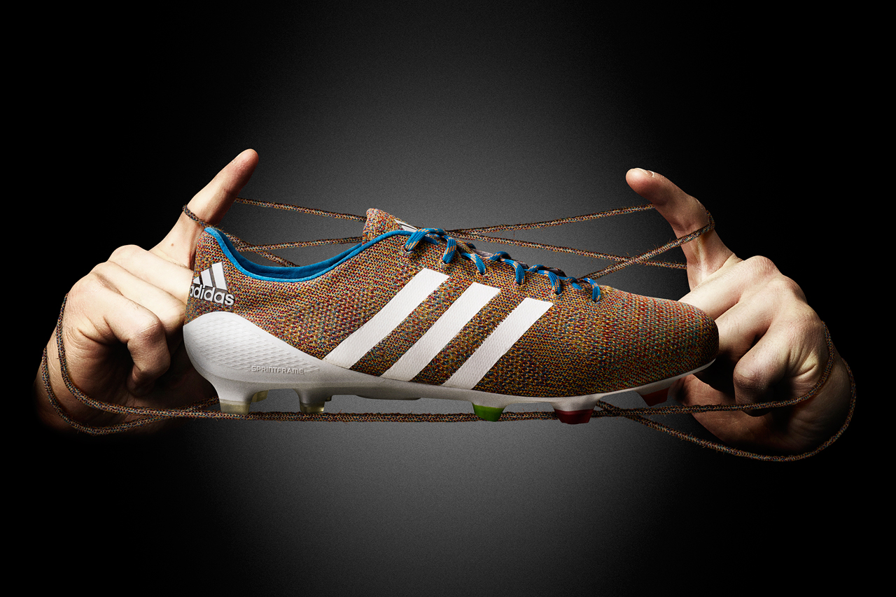 Image of adidas Unveils the World's First Knitted Football Boot