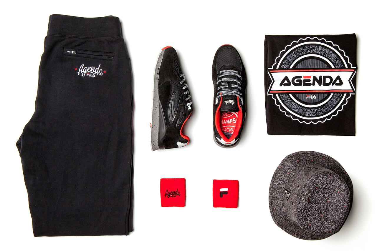 Image of Agenda x FILA 2014 Capsule Collection